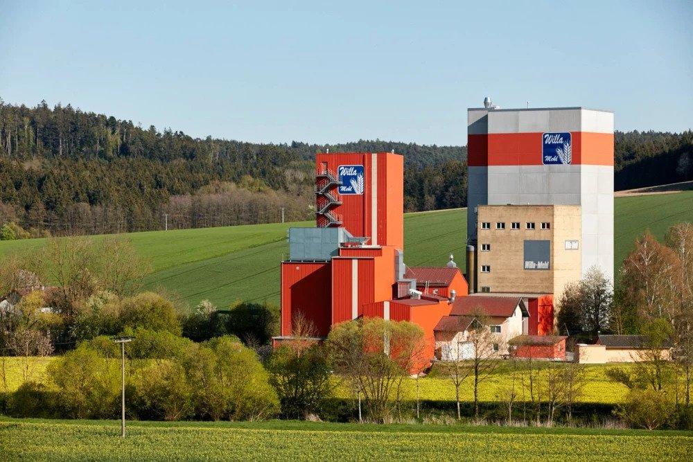 Außenansicht Willa Mehl Mühle